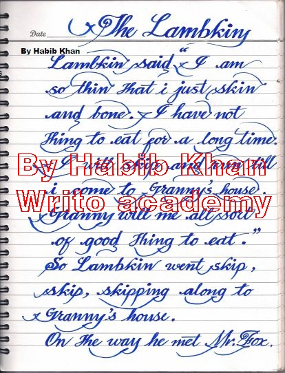 Order 10 DAYS CRASH COURSE FOR ENGLISH HAND WRITING