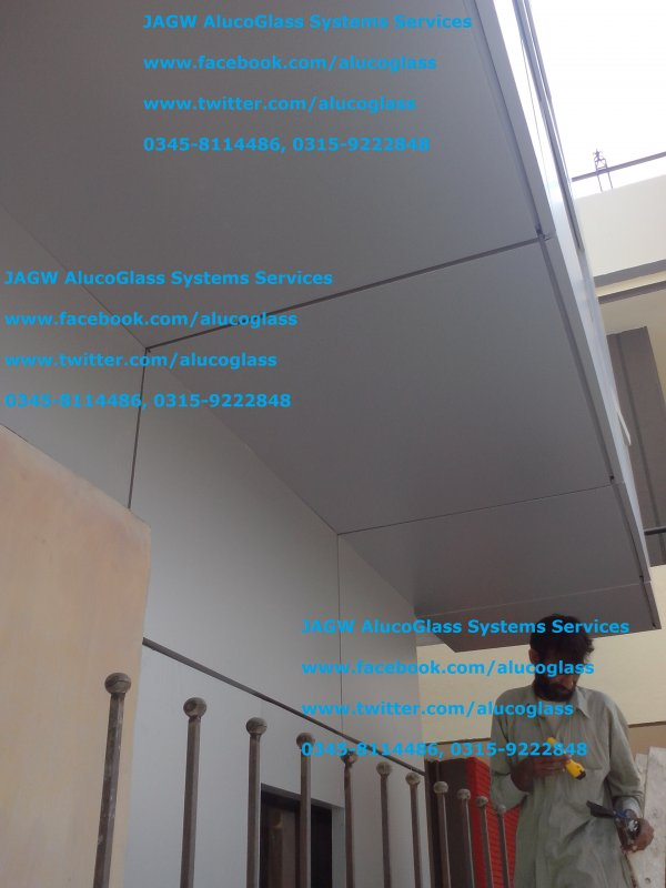 Order Alucobond Aluminum Composite Panel Contractors in Hyderabad and Sindh