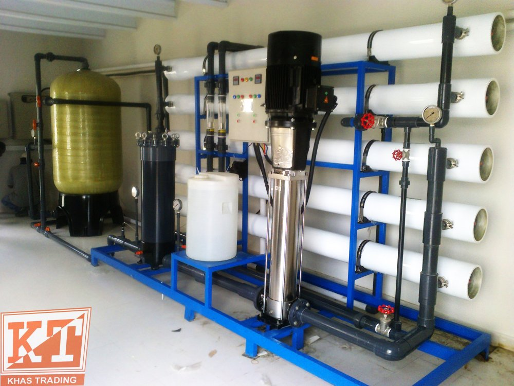Order 75000 GPD Reverse Osmosis Plant Karachi by KHASTRADING