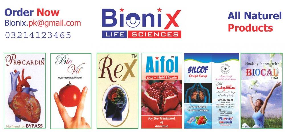 Order Bionix Life Sciences