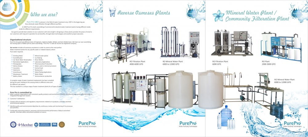 Order Water filter / RO plants