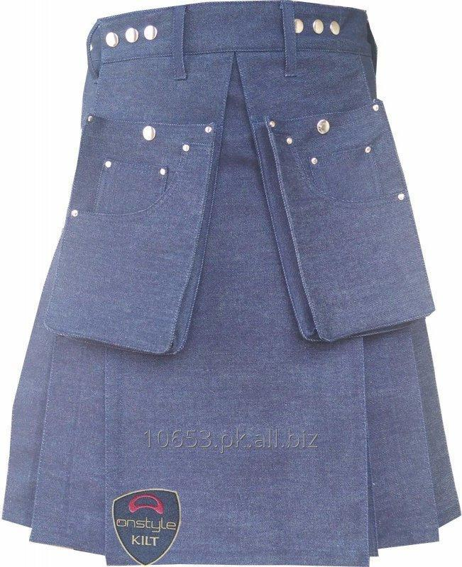 Order Denim Kilt, Highland wears