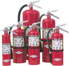 Refill of Fire Extinguishers