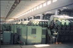Maintenance work in power