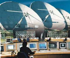 Satellite Uplink Facilities for Professional TV Services