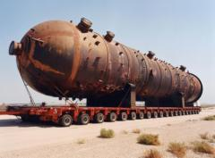 Heavy Equipment haulage