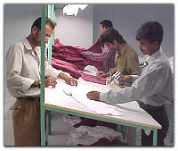 Garment and made ups inspection