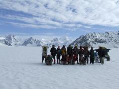 Biafo Hisphar Snow Lake trek: