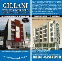 Shops, Apartments & Plots Available for Rent & Sale CDA Sector