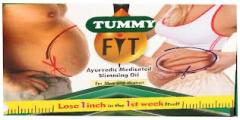 Tummy fit oil