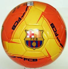 PU FOOTBALL COLOR  ORANGE