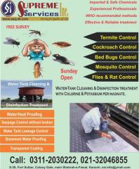 Insect Control, Fumigation & Water Tank Cleaning Services