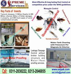 Pest Control, Tank Cleaning & Seepage Control Services
