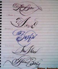 Make your signature beautiful and impressive
