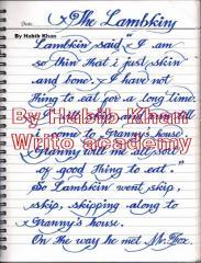 10 DAYS CRASH COURSE FOR ENGLISH HAND WRITING