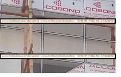 Aluminum Composite Panel ACP ACM Cladding Contractors