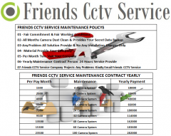 CCTV Maintenance Service Contract person 24 Hours Available