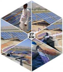 Solar Tube well Water Pumping System