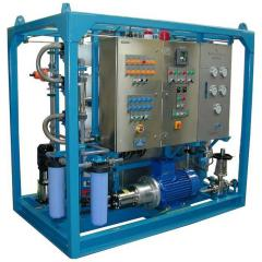 Sea water treatment plant / high TDS water treatment