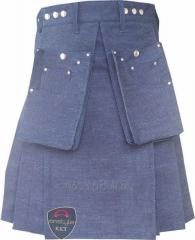 Denim Kilt, Highland wears