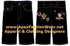 Men`s, Women's Hip Hop Urban Design Shorts