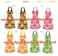 Women's Printed Dress Design