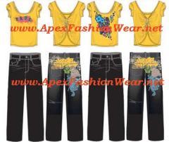 Women's Hip Hop Urban Design Jeans