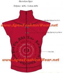 Women's Sleeveless Zipper Design
