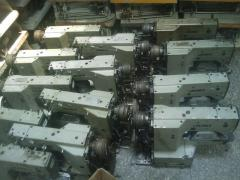 Repairment of industrial sewing machinery