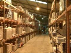 Warehousing and storage of goods on pallets