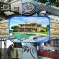 Construction of Swimming Pool and Houses